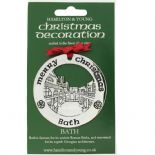 Silver Plated Christmas Decoration Bath 0978
